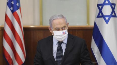 Mit US-Vertretern habe er «über die Frage der Souveränität gesprochen, an der wir in diesen Tagen arbeiten, und an der wir in den kommenden Tagen weiter arbeiten werden», sagt Regierungschef Benjamin Netanjahu.