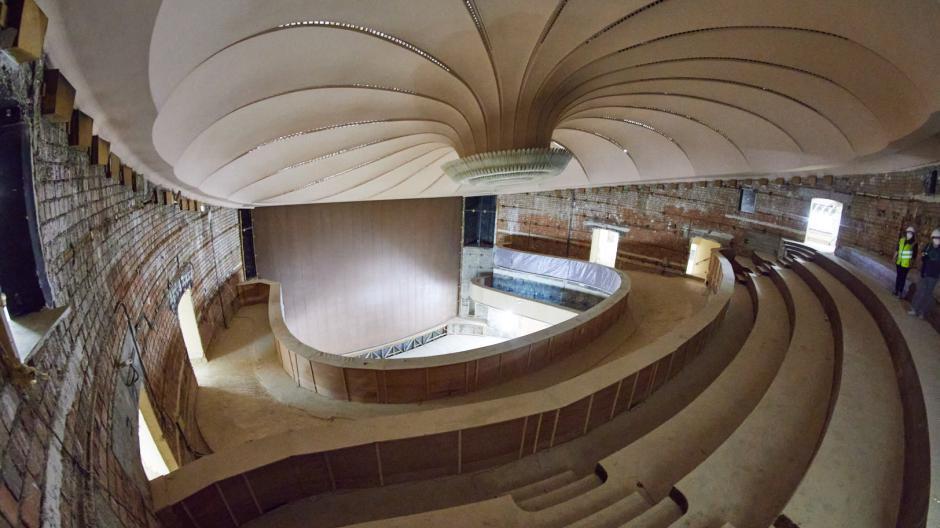 Die Sanierung des Staatstheaters in Augsburg ist bereits in vollem Gange, die Kostenschätzungen steigen immer weiter. Das Projekt könnte am Ende mehr als 320 Millionen Euro kosten.