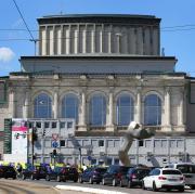 Das Staatstheater Augsburg - im Bild das Große Haus - wird gegenwärtig saniert.