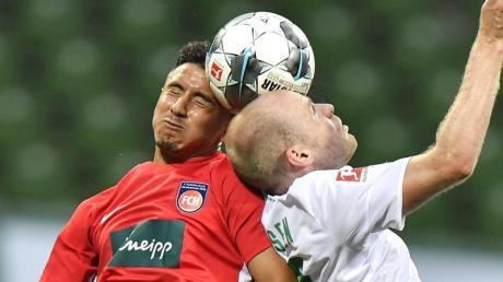 Im Relegationsspiel zwischen dem 1. FC Heidenheim und Werder Bremen wird es hart zur Sache gehen.