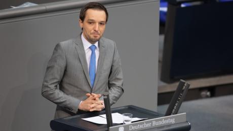 Benjamin Strasser ist Innenexperte der FDP in Bundestag.