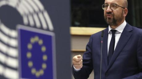 EU-Ratspräsident Charles Michel hat den Mitgliedsstaaten einen Kompromissvorschlag unterbreitet.