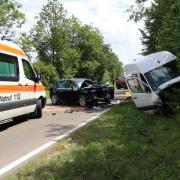 Auf Höhe des Nördlinger Krankenhauses hat sich am Freitag ein schlimmer Verkehrsunfall ereignet.