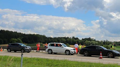 Nach einem Auffahrunfall zwischen Vöhringen und Illertissen staute sich der Verkehr bis zu 15 Kilometer.