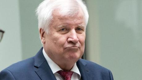 Horst Seehofer vergangene Woche bei der Vorstellung des Verfassungsschutzberichts 2019.