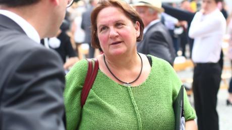 Der Bayern-Import: Theresa Schopper ist die neue Kultusministerin in Baden-Württemberg. Das Bild entstand 2020 am Schwörmontag in Ulm.