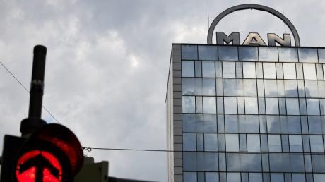 In der Stadtbachstraße im MAN-Hochhaus sitzt die Firmenzentrale von MAN Energy Solutions. Das Unternehmen plant in Augsburg einen massiven Stellenabbau.