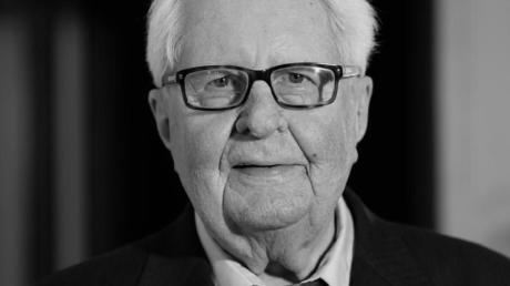 Der Politiker Hans-Jochen Vogel (SPD) ist tot.