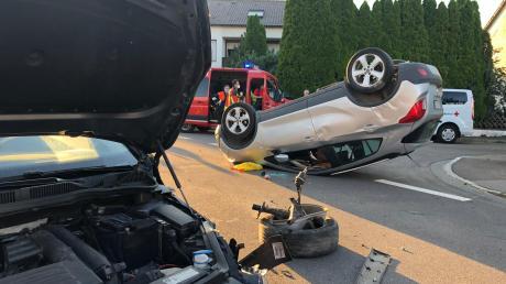 Der Unfall ereignete sich in der Sonderheimer Straße in Höchstädt.