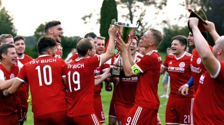 Der TSV Buch II gewann im Vorjahr überraschend den Bezirkspokal. Jetzt war in Runde vier Endstation.
