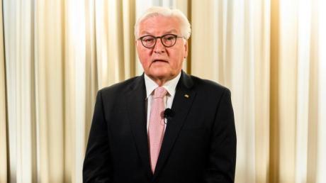 Bundespräsident Frank-Walter Steinmeier warnt in einer Videobotschaft vor Verwantwortungslosigkeit in der Corona-Pandemie.