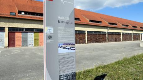 Die  Halle 116 war ab 1944 ein ehemaliges KZ-Außenlager,  zugehörig zum KZ Dachau