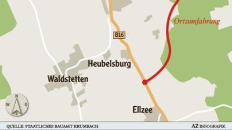Der überarbeitete Entwurfsplan für die B16-Ostumgehung von Ichenhausen fand bei den Gemeinderäten im Kammeltal wenig Begeisterung.