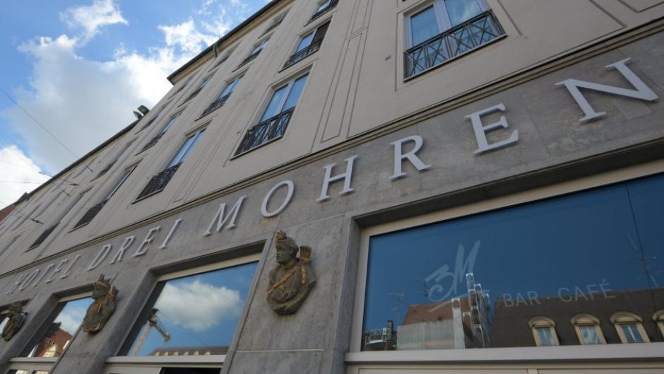 """Das Augsburger Traditionshotel """"Drei Mohren"""" benennt sich nach einer lange andauernden Rassismus-Debatte um."""