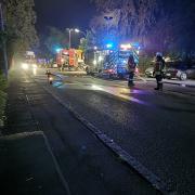 In der Nacht auf Sonntag hat es in einem Wohn- und Geschäftshaus in Greifenberg erneut gebrannt.