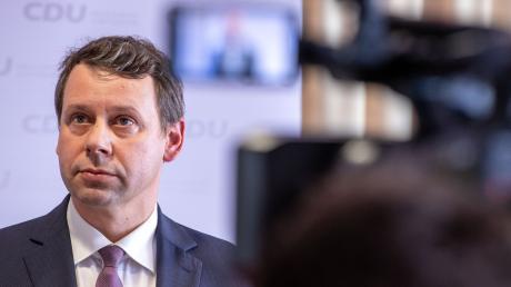 Michael Sack ist der neue Chef der CDU-Landesgruppe Mecklenburg-Vorpommern.