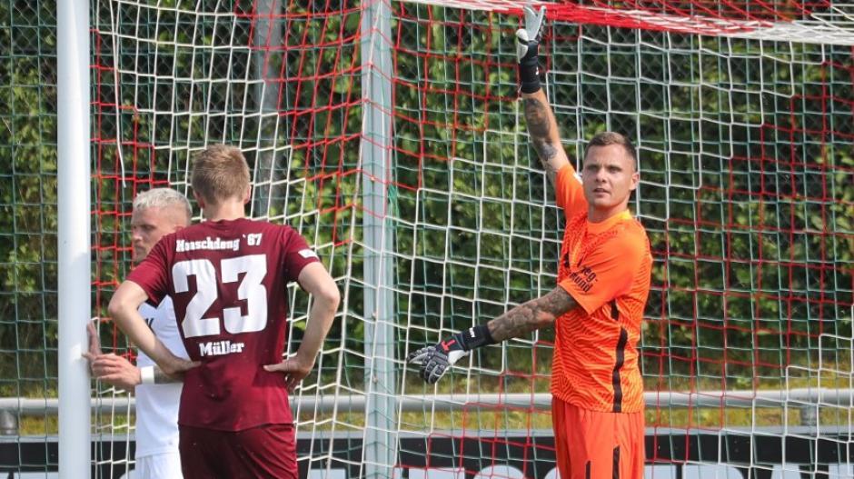 Rafal Gikiewicz gab am Samstag seine Premiere im Tor des FC Augsburg.