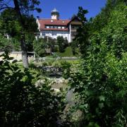 Der Gemeindepark Diedorf ist ein Ort der Ruhe und der Erholung.