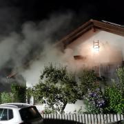 Das Feuer war in einem Wohnhaus in Greifenberg ausgebrochen.