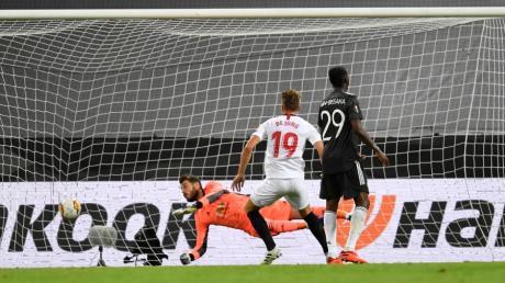 Das entscheidende Tor: Luuk de Jong löst für Sevilla das Ticket zum Endspiel.