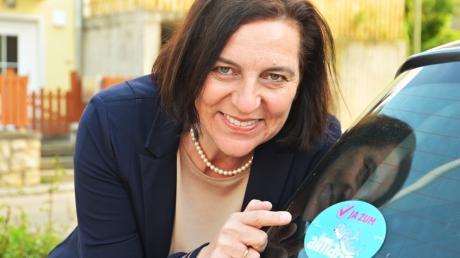 Karin Bergdolt ist seit dem 1. Mai 2020 Bürgermeisterin der Gemeinde Mönchsdeggingen.