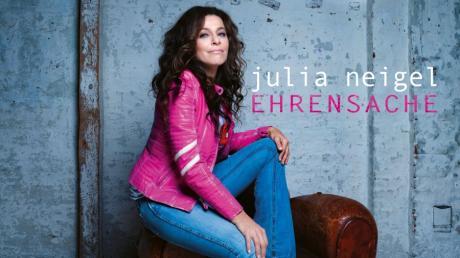 Das Cover des Albums Ehrensache der Sängerin Julia Neigel: Sie bezeichnete das Verbot von Großveranstaltungen als eine Art Enteignung.