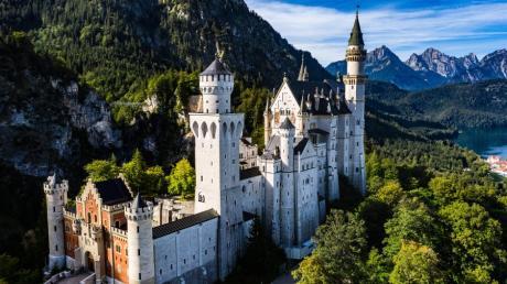 Schloss Neuschwanstein ist ein Touristenmagnet im Allgäu.