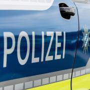 Bamberg, Deutschland 15.August 2020: Symbolbilder - 2020  Polizei Streifenwagen, Einsatzwagen mit Sondersignal, Balulicht, Feature / Symbol / Symbolfoto / charakteristisch / Detail /