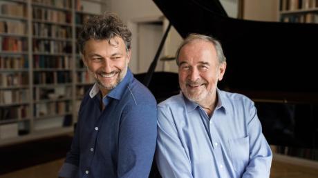 Jonas Kaufmann (links) und sein Klavierpartner Helmut Deutsch.