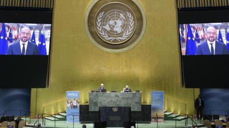 Diplomatie in Zeiten der Pandemie: Das UN-Jubiläum in New York.