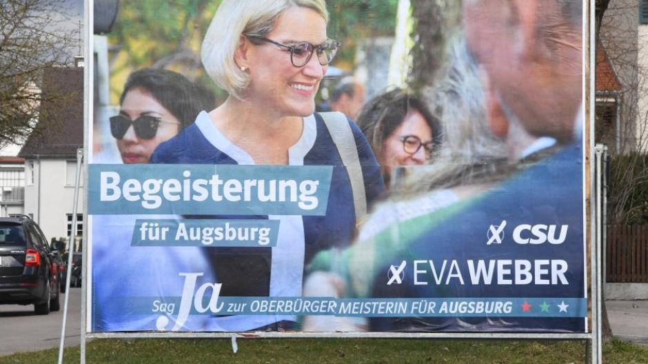 Im Wahlkampf kündigte Eva Weber bereits an, sich für mehr Bürgerbeteiligung einsetzen zu wollen. Jetzt soll es unter anderem einen Corona-Beirat in Augsburg geben.