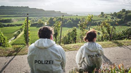Die friedliche Landschaft täuscht: Friedemann Berg (Hans-Jochen Wagner) und Franziska Tobler (Eva Löbau) ermitteln in einem Fall von Körperverletzung und Vergewaltigung.