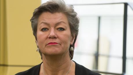 Ylva Johansson ist Teil der Kommission von Ursula von der Leyen.