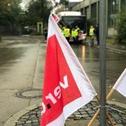Verdi wird die Streiks in Augsburg fortsetzen.