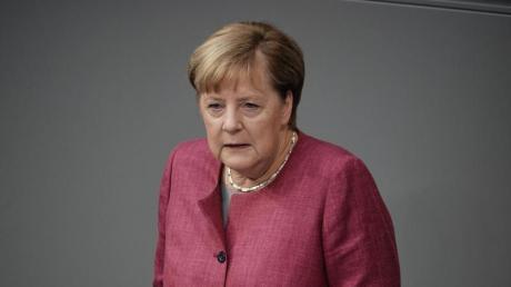 """""""Wir riskieren gerade alles, was wir in den letzten Monaten erreicht haben"""", sagte Bundeskanzlerin Angela Merkel während der Generaldebatte zum Bundeshaushalt im Bundestag."""
