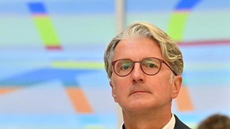 Der langjährige Audi-Chef Rupert Stadler vor dem Landgericht München.