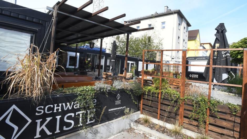 Die Schwarze Kiste an der Haunstetter Straße ist wieder geschlossen.