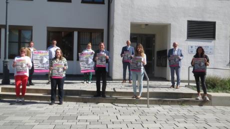 Neben Aichach beteiligen sich heuer Kissing, Friedberg sowie Schrobenhausen und Hohenwart an der Paarkunst. Bei einem Pressegespräch stellten sie ihre Veranstaltungen vor.