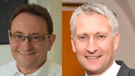 Hansjörg Durz (rechts) ist CSU-Bundestagsabgeordneter im Wahlkreis Augsburg-Land, Ulrich Lange im Wahlkreis Donau-Ries.