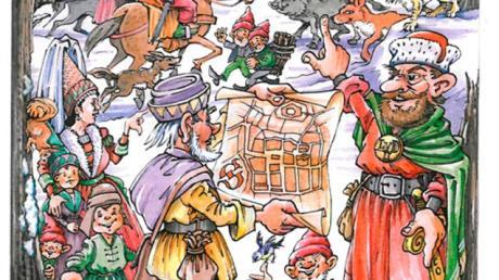5000 Exemplare sind Lions-Kalenders sind jetzt druckfrisch zu haben. Gestaltet hat das Titelbild wieder Anton Oberfrank.