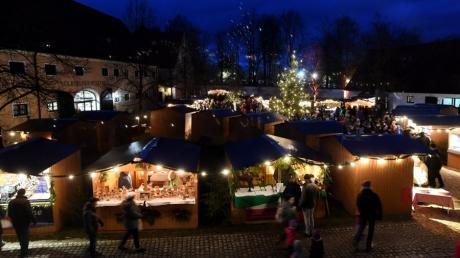 Wegen des großen Aufwands den Hygiene- und Abstandsregeln erfordert hätten, wurde der Weihnachtsmarkt in Oberschönenfeld abgesagt.