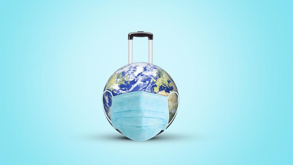 Die Welt - zu Corona-Zeiten ein einziges Risikogebiet für Urlaubsträume.