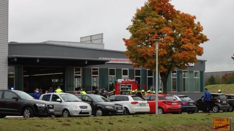 Eine Rauchentwicklung bei einer Bubesheimer Firma für Betriebs-, Lager- und Fahrzeugeinrichtungen hat es am Donnerstag gegen 13 Uhr gegeben.