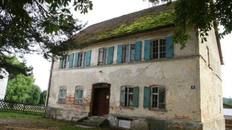 Die alte Hollenbacher Dorfwirtschaft ist im Rahmen der Dorferneuerung wieder Thema.