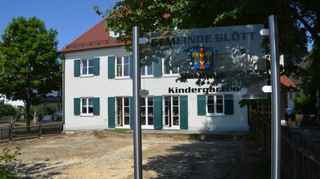 Der Kindergarten in Glött ist seit Freitag geschlossen.