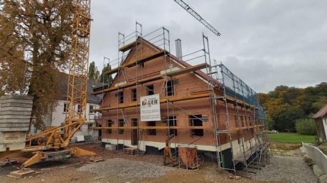 Der Bau des Bürgerhauses in Lauterbrunn ist heuer mit 720.000 Euro eingeplant.