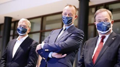 Norbert Röttgen, Friedrich Merz oder Armin Laschet - wer führt die CDU künftig? Die Entscheidung soll am 4. Dezember fallen. Aber kann der Parteitag in Stuttgart stattfinden?