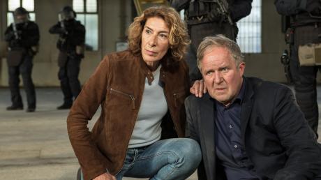 """Moritz Eisner (Harald Krassnitzer) und Bibi Fellner (Adele Neuhauser): Szene aus dem Wien-Tatort """"Krank"""", der heute im Ersten läuft."""