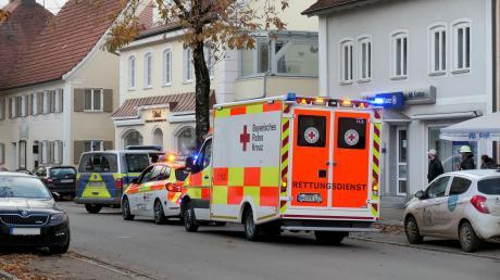 Am Mittwoch ist in Pfaffenhausen (Bayern) eine Frau schwer im Beckenbereich verletzt worden.