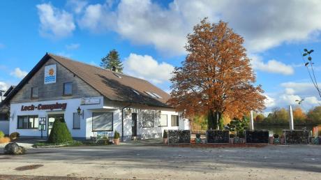 """Das Restaurant von Lech-Camping in Mühlhausen: Die Betreiber planen nun die Zukunft ihrer """"5-Sterne""""-Anlage."""